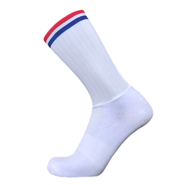 TeamSocks Elite Cykelstrømper - Red and blue Aero